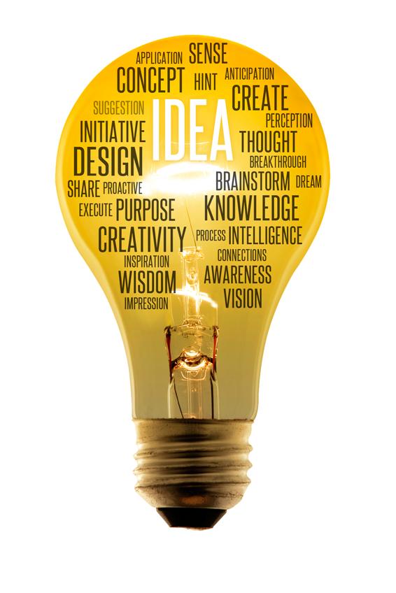 Creative Light bulb image